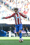 Atletico de Madrid's Antoine Griezmann during La Liga match between Real Madrid and Atletico de Madrid at Santiago Bernabeu Stadium in Madrid, April 08, 2017. Spain.<br /> (ALTERPHOTOS/BorjaB.Hojas)