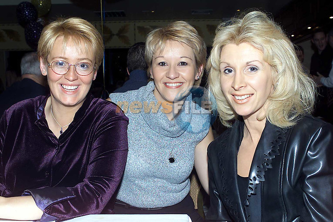 Joanne McCabe, Donacarney,Sheilagh Glynch,Bettystown and Marie Flynn, Bettystown pictured at the Neptune Beach leisure centre members night..Picture:Newsfile..Camera:   DCS620X.Serial #: K620X-00546.Width:    1728.Height:   1152.Date:  24/11/00.Time:   22:01:44.DCS6XX Image.FW Ver:   3.2.1.TIFF Image.Look:   Product.Sharpening Requested: Yes.Tagged.Counter:    [2027].Shutter:  1/60.Aperture:  f8.0.ISO Speed:  400.Max Aperture:  f2.8.Min Aperture:  f22.Focal Length:  28.Exposure Mode:  Manual (M).Meter Mode:  Color Matrix.Drive Mode:  Continuous High (CH).Focus Mode:  Continuous (AF-C).Focus Point:  Center.Flash Mode:  Normal Sync.Compensation:  +0.0.Flash Compensation:  +0.0.Self Timer Time:  10s.White balance: Custom.Time: 22:01:44.625.