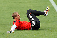 Goalkeeper Manuel Neuer of Germany warming up