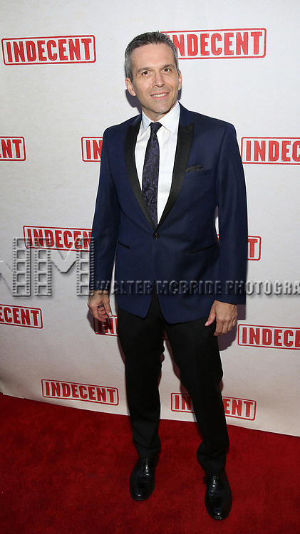 Jim Kierstead attends the Broadway Opening Night Performance of  'Indecent' at The Cort Theatre on April 18, 2017 in New York City.