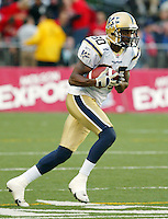 David Stevens Winnipeg Blue Bombers. Photo Scott Grant