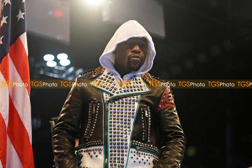 Floyd Mayweather during a Boxing Show at the Copper Box Arena on 20th May 2017