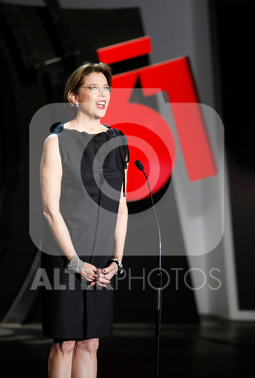 Annette Bening during the 61st San Sebastian International Film Festival's opening ceremony, in San Sebastian, Spain. September 20, 2013. (ALTERPHOTOS/Victor Blanco)