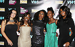 Diva Gals Daily with Delaina Dixon host The Gossip Table at the VH1 Premiere Party for The Gossip Table and Big Morning Buzz Live on September 25, 2013 at the Ling Ling Lounge at Hakkasan, New York City, New York. (Photo by Sue Coflin/Max Photos)