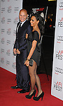 "HOLLYWOOD, CA. - November 04: Stephen Belafonte and singer Melanie Brown arrive at the AFI Fest Screening Of ""Bad Lieutenant: Port Of Call New Orleans"" Grauman's Chinese Theatre on November 4, 2009 in Hollywood, California."