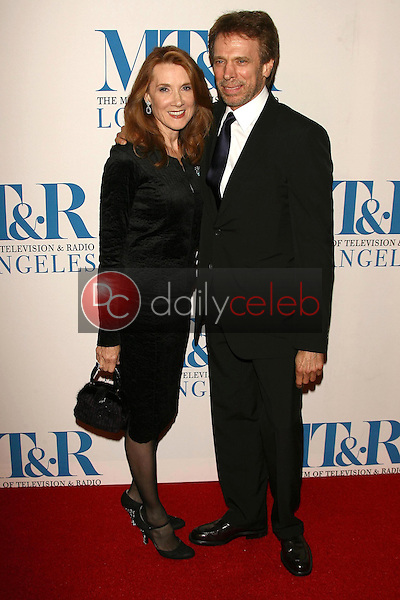 Jerry Bruckheimer and wife Linda<br />