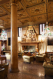 ITALY, Venice. The Lobby of the Hotel Danieli, a Luxury Collection Hotel.