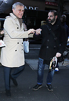 NEW YORK, NY - February 4; Christoph Waltz  seen at NBC's Today Show in New York City on February  04, 2019. <br /> CAP/MPI/RW<br /> &copy;RW/MPI/Capital Pictures