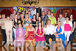 Amanda O'Keeffe Knockaragh, Killarney seated centre celebrates her 21st with her family and friends in the Killarney Avenue Hotel Friday night   Copyright Kerry's Eye 2008