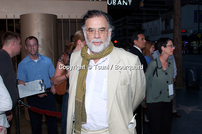 "Francis Ford Coppola arriving at the "" CQ premiere""  at the Egyptian Theatre in Los Angeles. May 13, 2002.            -            CoppolaFrancisFord10.jpg"