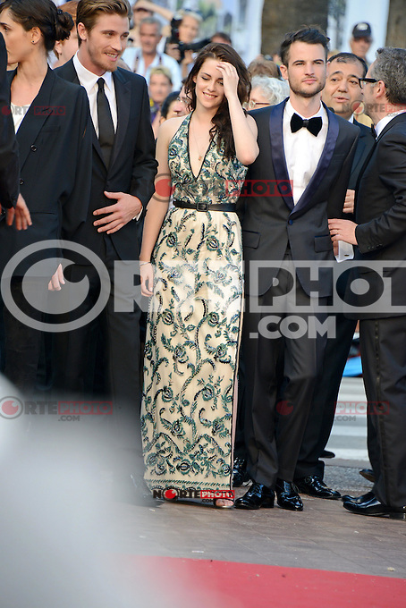 "Garret Hedlund, Kristen Stewart and Tom Sturridge attending the ""On the Road"" Premiere during the 65th annual International Cannes Film Festival in Cannes, 23th May 2012...Credit: Timm/face to face"