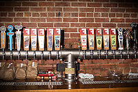 DURHAM, N.C. Tuesday August 5, 2014 - The tap at Fullsteam Brewery in Durham, N.C. (Justin Cook for The New York Times)