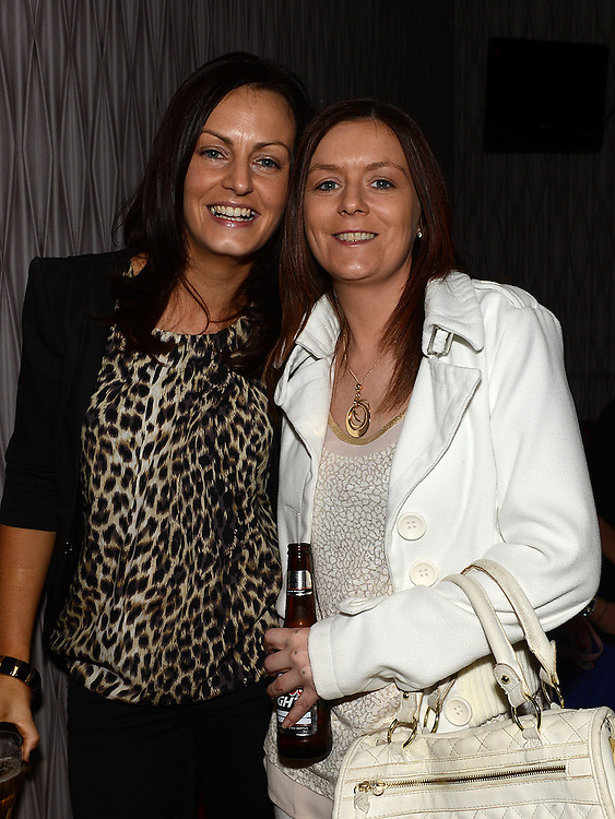 Fiona Buckley and Stephanie Leonard pictured at the Stephanie Smith benefit night in The Star Bar. Photo:Colin Bell/pressphotos.ie