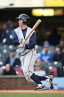April 20, 2010: Jared Clark (37) of the Asheville Tourists at Applebee's Park in Lexington, KY. Photo by: Chris Proctor/Four Seam Images