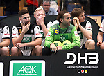 08.01.2019, Hohenschoenhausen, Berlin, GER, Handball WM, DHB,  TRAINING, im Bild <br /> Fabian Wiede (GER #10), Silvio Heinevetter (GER #12), Patrick Wiencek (GER #7), Finn Lemke (GER #6), Hendrik Pekeler (GER #13), <br /> <br />      <br /> Foto &copy; nordphoto / Engler