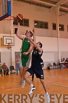 St Brendans  v  Queens in last weekend's u18 basketball championships at Mounthawk Gym, Tralee.