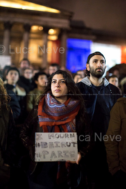 Trafalgar Square.<br />