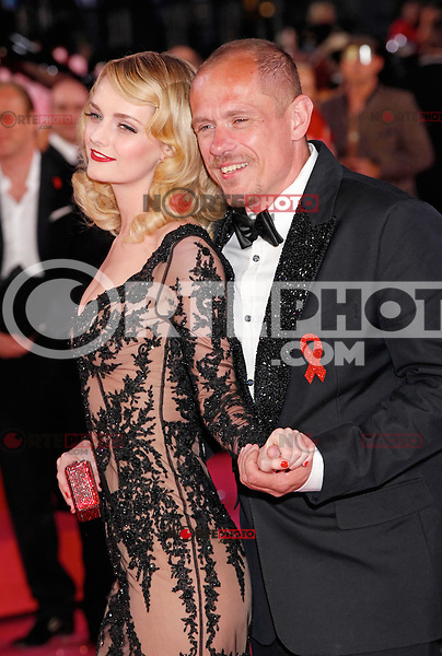 """Lydia Hearst and Gery Keszler attending the """"20th Life Ball"""" AIDS Charity Gala 2012 held at the Vienna City Hall. Vienna, Austria, 19th May 2012...Credit: Wendt/face to face /MediaPunch Inc. ***FOR USA ONLY**"""