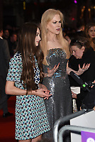 Raffey Cassidy, Nicole Kidman at 'The Killing of a Sacred Deer'  Headline Gala Screening &amp; UK Premiere of during the 61st BFI London Film Festival on October 12, 2017 in London, England.<br /> CAP/PL<br /> &copy;Phil Loftus/Capital Pictures /MediaPunch ***NORTH AND SOUTH AMERICAS ONLY***