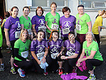 Rosie, Helen, Ann, Deirdre, Ann, Fiona, Marie, Edel, Susan, Mandy and Margaret at the Annagassan 10km.<br /> <br /> <br /> Photo - Jenny Matthews