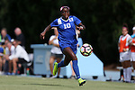 19 August 2016: Duke's Toni Payne. The Duke University Blue Devils played the Wofford College Terriers in a 2016 NCAA Division I Women's Soccer match. Duke won the game 9-1.