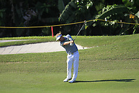 Soren Kjeldsen (DEN) in action on the 9th during Round 4 of the Maybank Championship at the Saujana Golf and Country Club in Kuala Lumpur on Saturday 4th February 2018.<br /> Picture:  Thos Caffrey / www.golffile.ie<br /> <br /> All photo usage must carry mandatory copyright credit (&copy; Golffile | Thos Caffrey)
