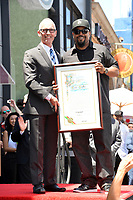 Ice Cube &amp; L.A. Council member Mitch O'Farrell at the Hollywood Walk of Fame star ceremony honoring actor/musician Ice Cube, Los Angeles, USA 12 June  2017<br /> Picture: Paul Smith/Featureflash/SilverHub 0208 004 5359 sales@silverhubmedia.com