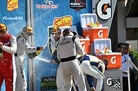 IMSA WeatherTech SportsCar Championship<br /> Sahlen's Six Hours of the Glen<br /> Watkins Glen International, Watkins Glen, NY USA<br /> Sunday 2 July 2017<br /> 93, Acura, Acura NSX, GTD, Andy Lally, Katherine Legge<br /> World Copyright: Richard Dole/LAT Images<br /> ref: Digital Image RD_WGI_17_568