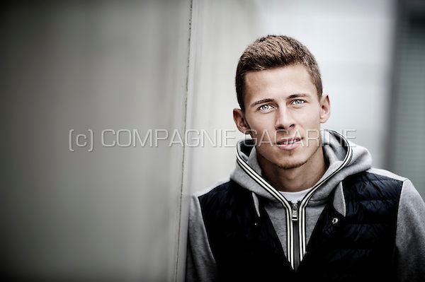 Belgian football player Thorgan Hazard (Germany, 08/09/2015)