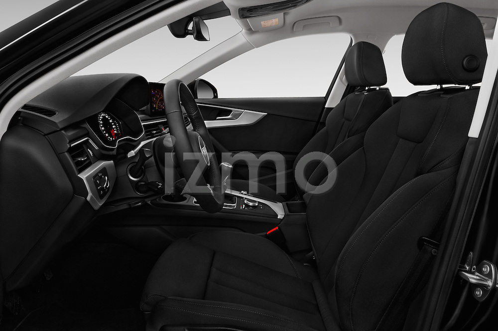 Front seat view of 2017 Audi A4 Sport 5 Door Wagon Front Seat  car photos
