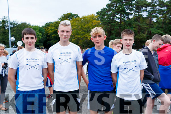 Templenoe U-16 Boys at Templenoe regatta on Sunday L-R: Callum Murphy, Sebastian Wharton, Ko Kallwaard and Michael O'Reilly