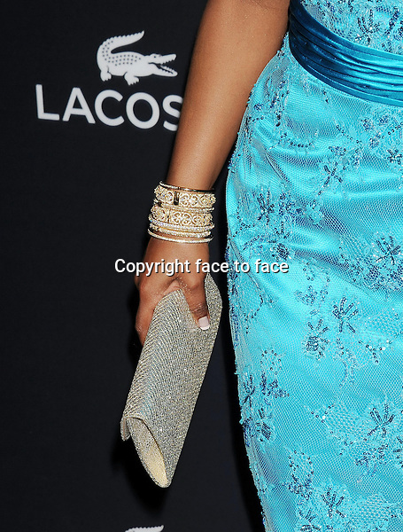BEVERLY HILLS, CA- FEBRUARY 22: Actress Mindy Kaling (handbag, bracelet detail) at the 16th Costume Designers Guild Awards at The Beverly Hilton Hotel on February 22, 2014 in Beverly Hills, California.<br /> Credit: Mayer/face to face<br /> - No Rights for USA, Canada and France -