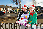 Joanne McCarthy and Kadie Colbert launching the Feel Fit Festive 5K Run and Walk on Sunday 7th December at 10.30 in association  with Feel Fit Mountmahon Abbyfeale