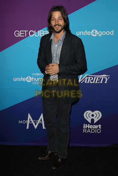 Los Angeles, CA - FEBRUARY 27: Diego Luna Attending Unite4good And Variety Host 1st Annual Unite4:humanity Event, Held at Sony Pictures Studios California on February 27, 2014.  <br /> CAP/MPI/RTNUPA <br /> &copy;RTNUPA/MediaPunch/Capital Pictures