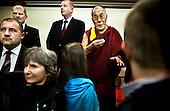 Wroclaw 10.12.2008 Poland<br /> His Holiness XIV Dalai Lama after press conference in Sofitel Hotel.<br /> Continuing his tour of Poland, The Dalai Lama has met with journalists on press conference in Wroclaw before He will receive the honorary citizenship of Wroclaw.<br /> Photo: Adam Lach / Napo Images<br /> <br /> Jego Swiatobliwosc XIV Dalajlama po konferencji prasowej w Hotelu Sofitel.<br /> Kontynuujac swoja podroz po Polsce, Dalajlama spotkal sie z dziennikarzami na konferencji prasowej we Wroclawiu tuz przed tym jak otrzyma honorowe obywatelstwo Wroclawia.<br /> Fot. Adam Lach / Napo Images