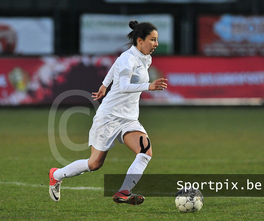 France U19 - Belgium U19 : Ghoutia Karchouni.foto DAVID CATRY / Nikonpro.be