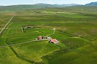 Harrastaðir séð til austurs, Dalabyggð áður Miðdalahreppur / Harrastadir viewing east, Dalabyggd former Middalahreppur.