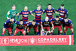 FC Barcelona's team photo during Spanish Kings Cup Final match. May 22,2016. (ALTERPHOTOS/Acero)