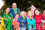 The Home Coming -The Senior and minor Kerry Teams are Welcomed back to Tralee on Monday by l-r John Rohan, Megan Leahy, Joseph Harty, Elle O'Connor, Anna Maria Harty and Grace Cantillon