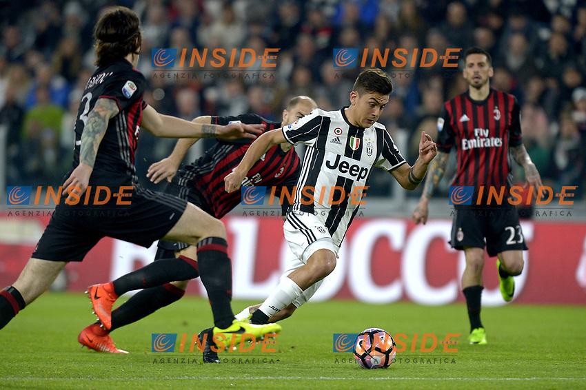 Paulo Dybala Juventus <br /> Torino 10-03-2017, Juventus Stadium, Football Calcio 2016/2017 Serie A, Juventus - Milan, Foto Filippo Alfero/Insidefoto