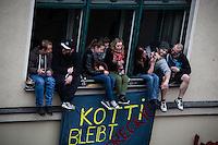 **Hinweis: Dieses Bild ist Teil der Fotostrecke 1. Mai**  Berlin, Myfest am Mittwoch (01.05.13) in Kreuzberg in Berlin. Foto: Maja Hitij/CommonLens