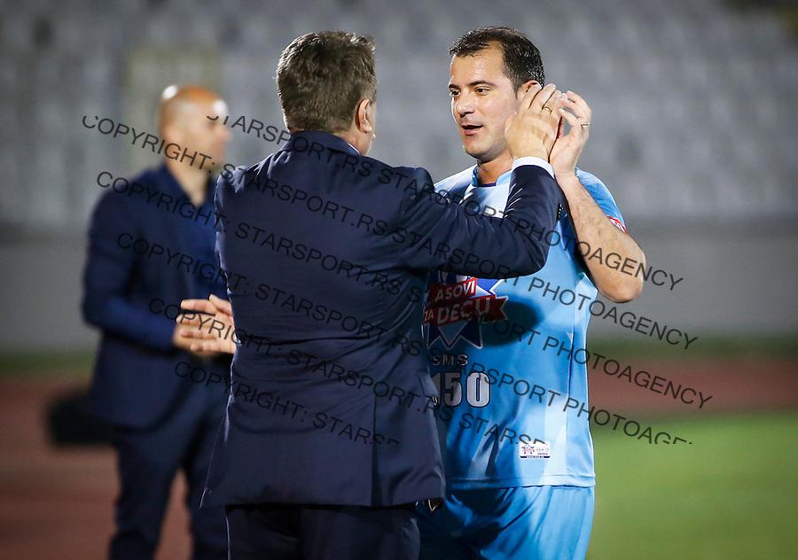 Humanitarni Fudbalski Mec<br /> Head coach Radomir Antic (L) and Dejan Stankovic<br /> Beograd, 24.05.2016<br /> foto: Srdjan Stevanovic/Starsportphoto &copy;