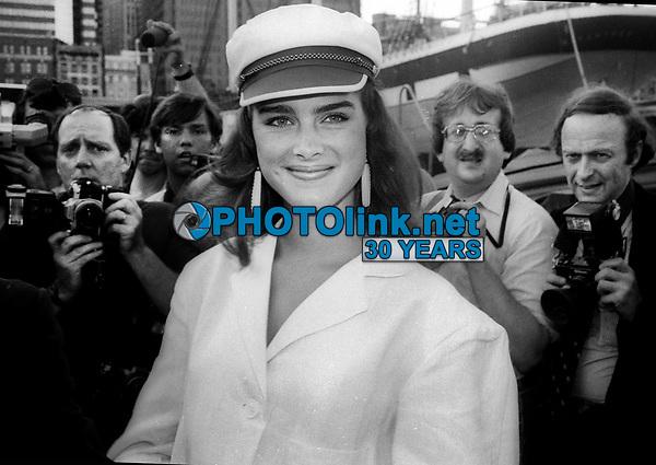 Brooke Shields 1982<br /> Photo by Adam Scull/PHOTOlink.net