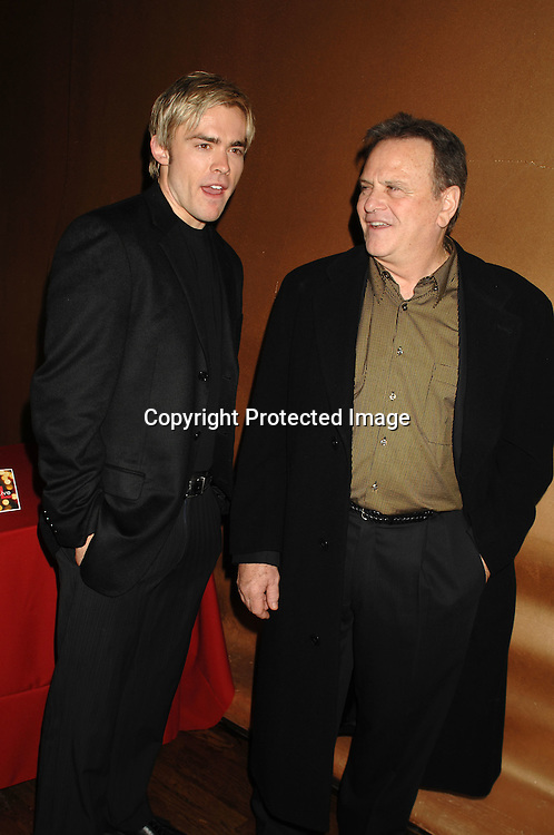 John-Paul Lavosier and Bob Woods ..at The One Life To Live Christmas Party on December 11, 2006 at Venue in New York, ..Robin Platzer, Twin Images