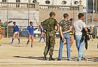 - English soldiers in their barracks....- militari inglesi nella loro caserma