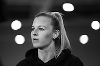 23.05.2019 Katrina Rore of the Silver Ferns speaks with media during the Silver Ferns squad announcement ahead of the Netball World Cup 2019 at the ILT Stadium in Invercargill. Mandatory Photo Credit Copyright photo: Dianne Manson/Michael Bradley Photography
