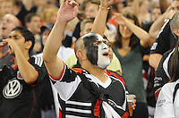 D.C. United fan. D.C. United defeated The Vancouver Whitecaps FC 4-0 at RFK Stadium, Saturday August 13 , 2011.