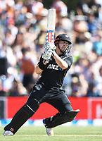 Henry Nicholls.<br /> New Zealand Blackcaps v England. 5th ODI International one day cricket, Hagley Oval, Christchurch. New Zealand. Saturday 10 March 2018. &copy; Copyright Photo: Andrew Cornaga / www.Photosport.nz