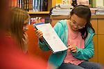 Santa Rita students read pour quoi tales at Linden Tree Books