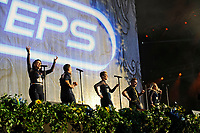 LONDON, ENGLAND - SEPTEMBER 9: Steps performing at BBC Proms in The Park, Hyde Park on September 9, 2017 in London, England.<br /> CAP/MAR<br /> &copy;MAR/Capital Pictures